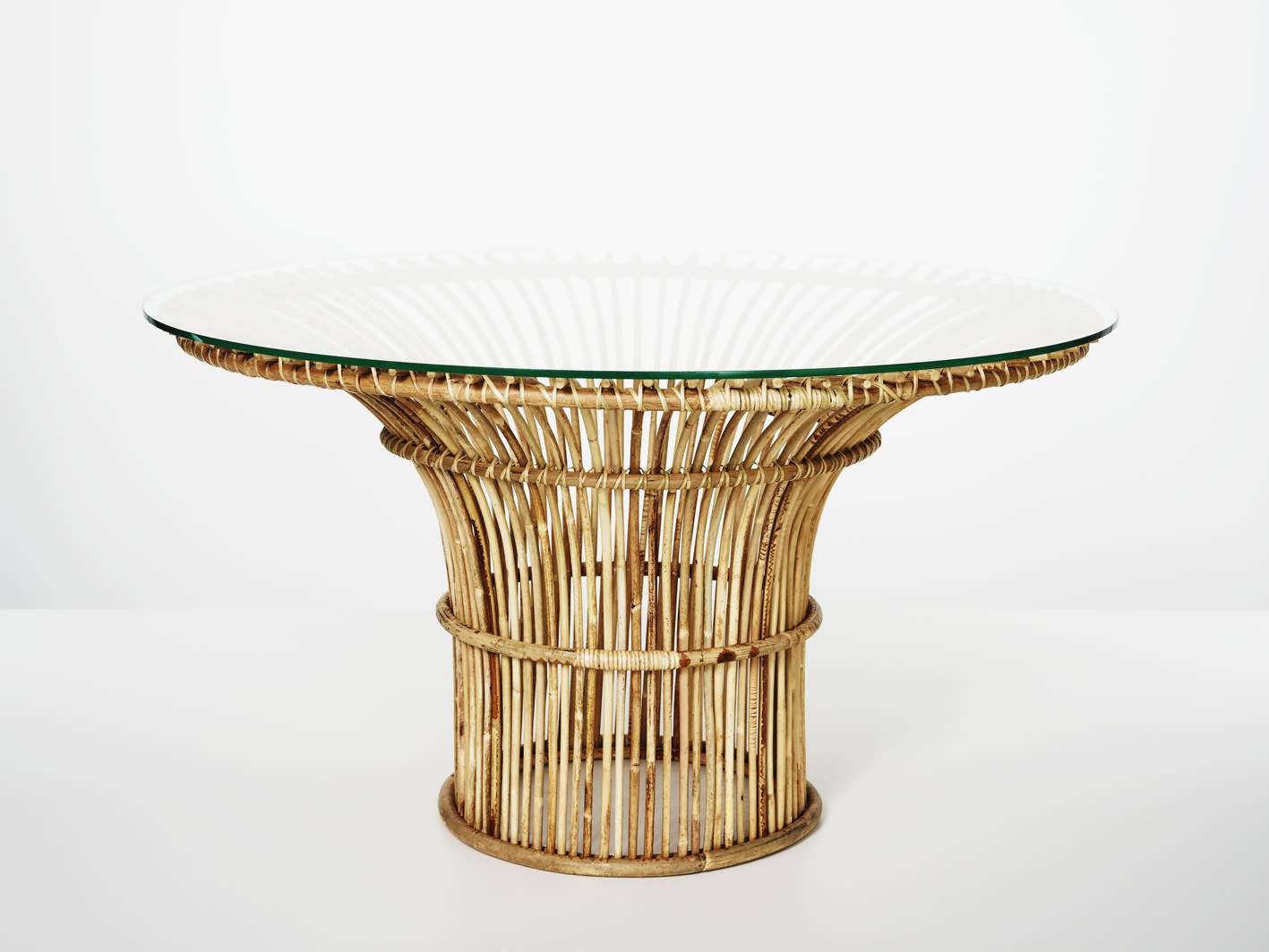 Mekong Trumpet Table low