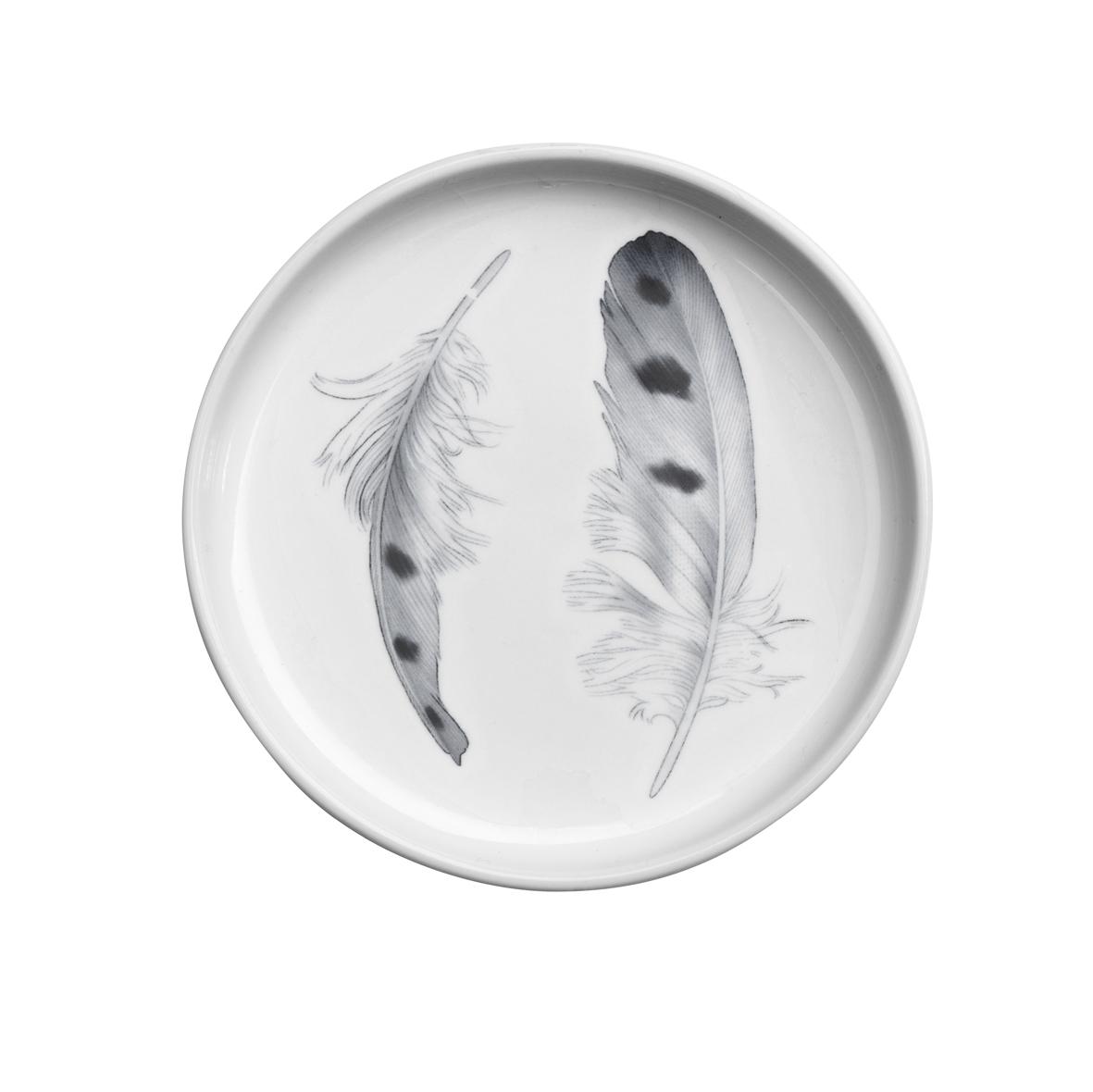 Svenska Ro݈dlistan plate 10 cm Fja݈lluggla_II