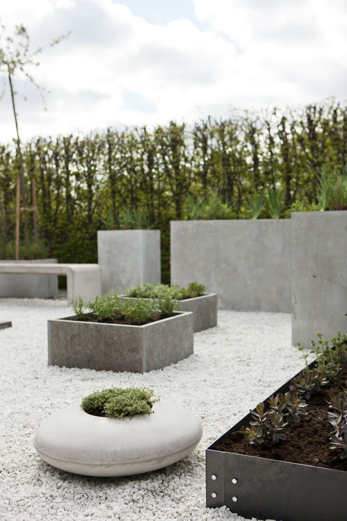 Kruka i betong